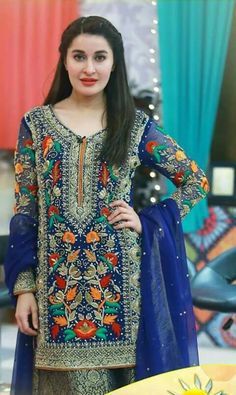 Excited to share this item from my shop: Indian Pakistani Unstitch Pure Chiffon Hevy Embroidered Handwork SalwarKameez Punjabi Suit Latest Pakistani Dresses, Pakistani Designer Suits, Pakistani Fashion Casual, Pakistani Dress Design, Pakistani Suits, Punjabi Suits, Fancy Wedding Dresses, Bridal Dresses, Casual Dresses