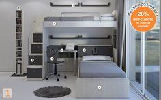 Mueble:  (Código A23) camas-marineras-varones  -  AGIOLETTO, Muebles Infantiles, Muebles Juveniles