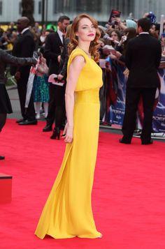Celebrity style: los mejores y peores looks de 2014 Emma Stone en Atelier Versace