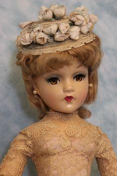21 inch Composition 1938 Madame Alexander Portrait Godey Lady of Fashion MysteryDoll Old Dolls, Antique Dolls, Vintage Dolls, Doll Head, Doll Face, Pretty Dolls, Beautiful Dolls, All American Doll, Vintage Madame Alexander Dolls