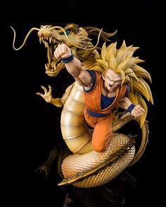 Super Saiyan 3, Goku Super, Son Goku, Dragon Ball Z, Dragon Movies, Ssj3, Manga News, Sideshow Collectibles, Animation Film