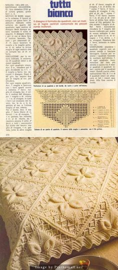 Knitted Bedspread ~~