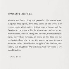 We are women. Poetry Quotes, Me Quotes, Motivational Quotes, Inspirational Quotes, Sport Quotes, Lang Leav Quotes, Women Empowerment Quotes, Empowering Women Quotes, Babe