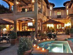 Amazing House #CourtYard #Landscape #Outdoor  ༺༺  ❤ ℭƘ ༻༻  IrvineHomeBlog.com