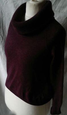 #twitter#tumbrl#instagram#avito#ebay#yandex#facebook #whatsapp#google#fashion#icq#skype#dailymail#avito.ru#nytimes #i_love_ny     Massimo Dutti Cashmere Blend Purple italy  sweater size M #MassimoDutti #Collared