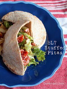 BLT Stuffed Pitas