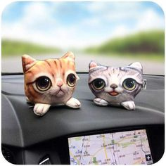 Cute Cat Automotive Air Purifier http://charkolstore.com/products/cute-cat-automotive-air-purification?utm_campaign=crowdfire&utm_content=crowdfire&utm_medium=social&utm_source=pinterest
