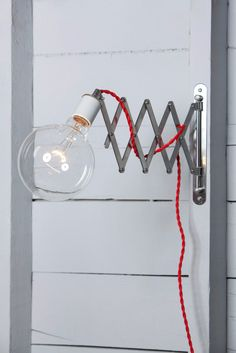 Scissor Wall Lamp from Industrial Light Electric