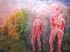 "Saatchi Art Artist David  K Collins; Painting, ""Violet Rays 2"" #art"
