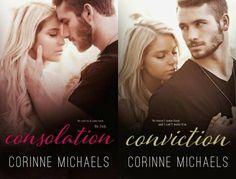 Românticos e Eróticos Book: Corinne Michaels - The Consolation #1 e #2