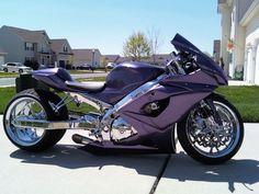 GSXR 1000 all custom and chrome! For Sale or Trade - Honda . Custom Street Bikes, Custom Sport Bikes, Custom Motorcycles, Custom Cars, Suzuki Motorcycle, Motorcycle Design, Biker Boys, Gsxr 1000, Air Ride