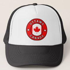 Ottawa Canada Trucker Hat - accessories accessory gift idea stylish unique custom