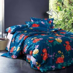 Cheap floral duvet cover, Buy Quality cotton bedlinen directly from China duvet cover Suppliers:                              Fabric: 100% Egyptian cotton fabric                  Que