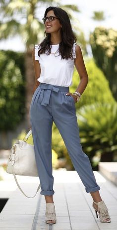 29 Spring Clothes That Will Make You Look Fantastic #pants #style #work outfit #fashion