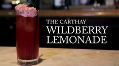 Learn the secrets behind your favorite Disneyland mixed drinks. Carthay Circle's Wildberry Lemonade: Wildberry syrup lemonade sparkling w. Disney Resorts, Disney Parks, Disney Pixar, Disney Insider, Food And Thought, Disney Family, Disney Crafts, Mixed Drinks, Cold Drinks