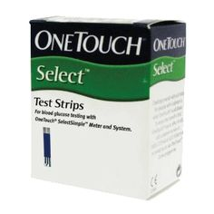 Johnson & Johnson Onetouch Select Simple Test Strips Buy Online at Best Price in India: BigChemist.com