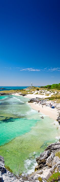 """One of the more popular swimming spots on Rottnest """"The Basin"""". Located within walking distance from the ferry landing day trippers can make in there for a swim, spend a few hours and make it back to the ferry for the late afternoon run back to the mainland."""