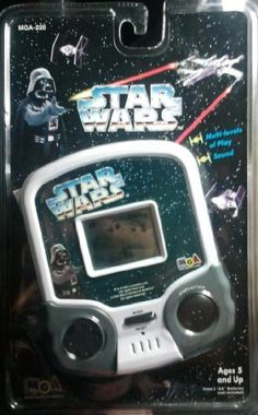 Star Wars, Micro Games of America Hand-held « Delay Gifts Tech Gifts, Nintendo Consoles, Holding Hands, Hold On, Nerd, Star Wars, America, Electronics, Games