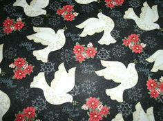 Free Shipping on 2 #Winter #Doves Sofa Pillow Cover by #CraftsbyDebbieLea