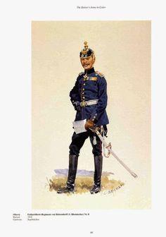 German; 8th Field Artillery Regiment von Holzendorff(1st Rheiisches), Oberst, c.1900. Raised 1816, Home Depot; Saarbruchen