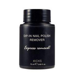 KICKS  Dip-in Nail Polish Remover