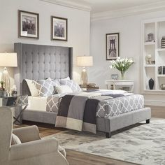 26 romantic master bedroom design ideas 26 ⋆ All About Home Decor Romantic Master Bedroom, Master Bedroom Design, Bedroom Bed, Home Decor Bedroom, Bedroom Ideas, Bed Room, Master Suite, Bedroom Ceiling, Wood Bedroom