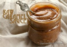 Raw Caramel Dipping Sauce. So healthy and delicious.