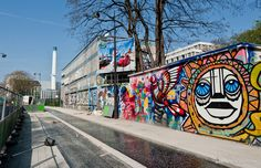 Rue de l'Ourcq Mural - Paris, France