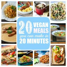 20 Vegan Meals You Can Make in 20-Minutes or Less | Babble