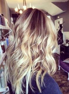 love the color dimension and the beachy waves too