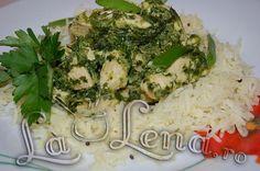 """Pui cu spanac(Palak Murgh)"" Recipes, Rezepte, Recipies, Cooking Recipes, Recipe, Food Recipes"
