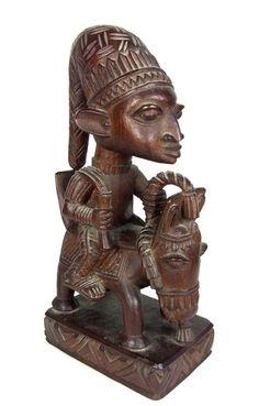 Nigeria Africa, Bowl Designs, Hindu Deities, Band Posters, Male Figure, West Africa, Modern Family, Bronze Sculpture, Tribal Art