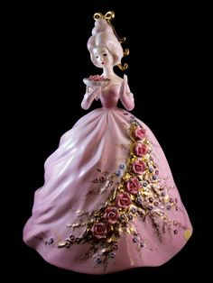 "Large Josef Originals figurine - ""Jeanne"" - From the 'Colonial Days' series. From my own private collection."