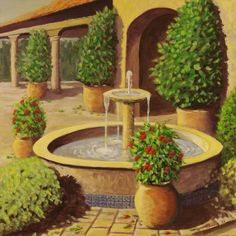 The Fountain Painting 275
