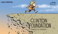 """The #ClintonFoundation gives less than .13 cents on every dollar """"donated"""" to charity."""