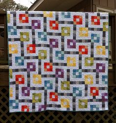 Fabricland made by Kati  B at Katie's Korner, pattern by Elizabeth at Don't Call Me Betsy
