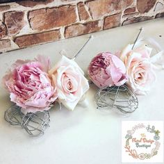 A welcome distraction today - cute flower wands for #flowerfriday #happyfriday #flowersofinstagram #floweroftheday #flowerstagram #flowerwand #wand #weddingflowers #peonies #roses #pink #weddingideas #weddinginspiration #flowergirl #weddingblog #weddingblogger #devinebride #friday
