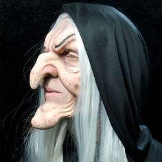 hagatha old witch foam latex halloween mask