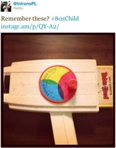 I had this! I wish I still did - it would crack me up to see it!
