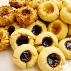 Gluten-Free Thumbprint Cookies Recipe With Fig And Apricot Jam Recipes ...