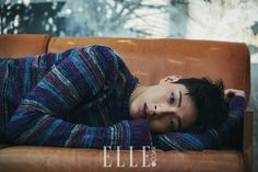 Ji Soo is stealing hearts with a tough guy look. For the photo shoot with 'Elle', the actor left behind his 'younger guy' image and took on a man…