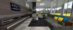 Sala: Divano Design de Interiores