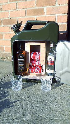 Details About Jerry Can Bar /mini Bar/ Camping / Drinks Carrier / Stag / Man  Cave