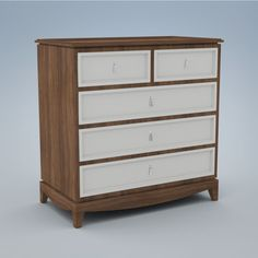 Duc Duc   Product   regency 5 drawer dresser