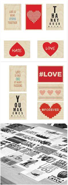 Set of 10 love postcards Postcards, Love, Amor, El Amor, Greeting Card