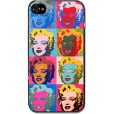 "Cover iPhone 4 e 4S ""Pop Art Marilyn"" di Andy Warhol"