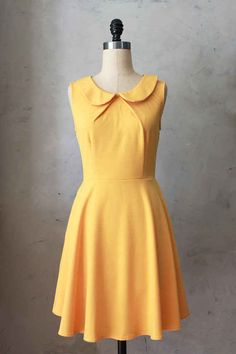 Provence Mustard Dress | 29 Bright Yellow Dresses To Help You Channel Kate Middleton
