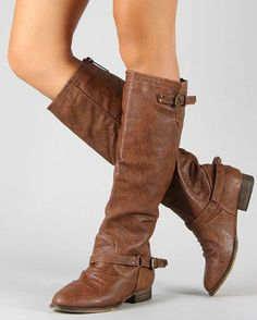 Steve Madden Inspired Boots Brown