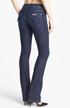 Flattering bootcut skinnies from Hudson Jeans.