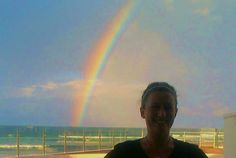 Another Qld rainbow. while I was at work! made my day :) Somewhere Over, Over The Rainbow, Natural Beauty, Louvre, Day, Nature, Travel, Voyage, Viajes